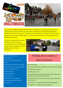 Image of CHorlton Voice Nov/Dec newsletter 2019