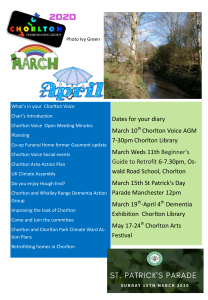 cover page March April 2020 newsletter